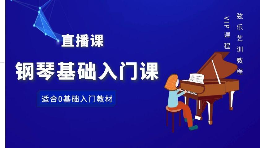 钢琴基础入门课-弦乐艺训金牌老师主讲