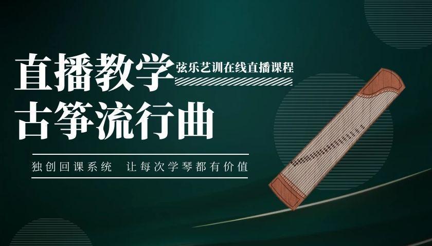 古筝流行曲目精讲教学